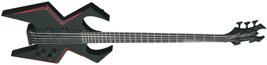 BP 4/2009 Test: B.C. RICH WMD Widow Bass