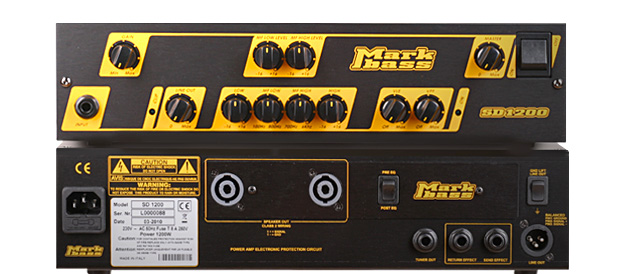 Bass Professor 3/2010 - Test Markbass SD 1200