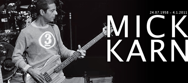 Bass Professor 3/2011 - Mick Karn