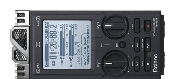 Bass Professor 5/2011. Test: Roland R-26 Portable Recorder