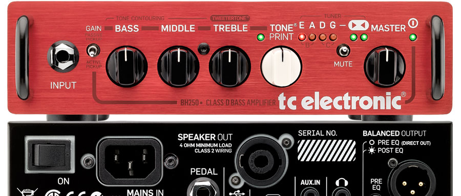 Bass Professor 2/2013 Test: TC ELECTRONIC BH250