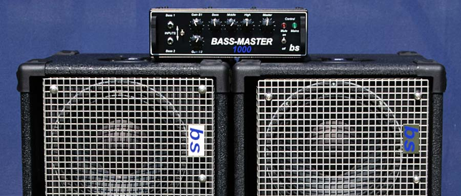 Bass Professor 3/2013, Ausgabe 70. Test: BS Basssysteme Bass_Master 1000 / 2 x MBRB210N-Box