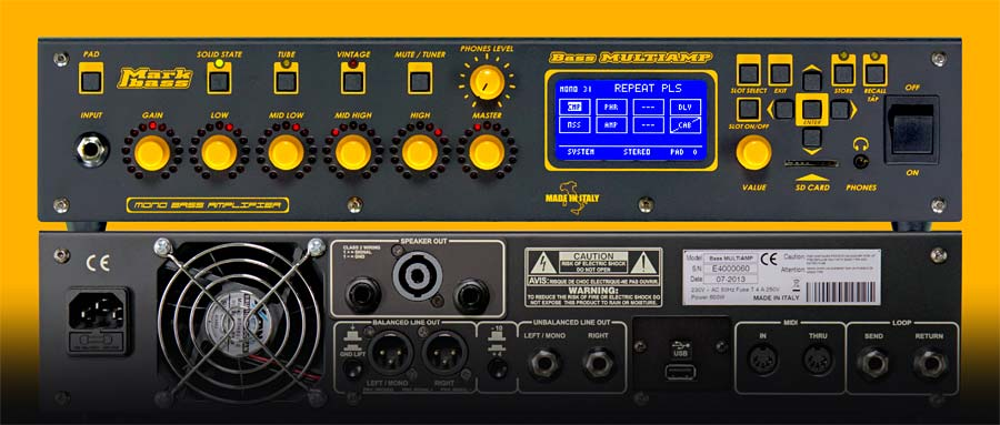 Bass Professor 5/2013, Test: MARKBASS Bass Multiamp