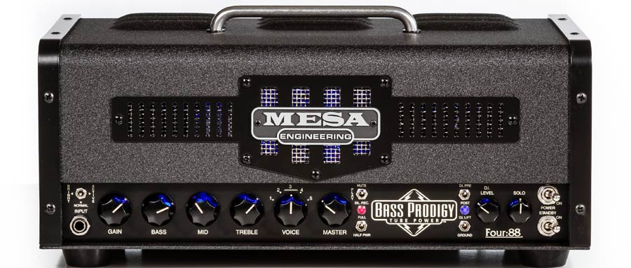 Bass Professor 1/2014, Test: MESA Bass Prodigy Four:88