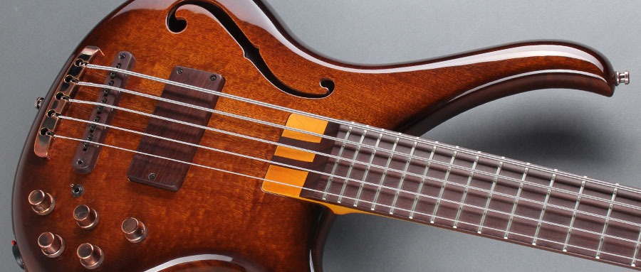Bass Professor 3/2014, Test: BASSLINE Buster CW 5 Thinline