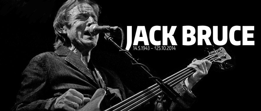 Jack Bruce - Pic by by Michael Sherer. Bass Professor 5/2014 - Ausgabe 77. Jack Bruce