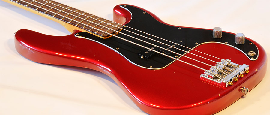 Bass Professor 5/2014 - Ausgabe 77. Test: FENDER Nate Mendel P-Bass