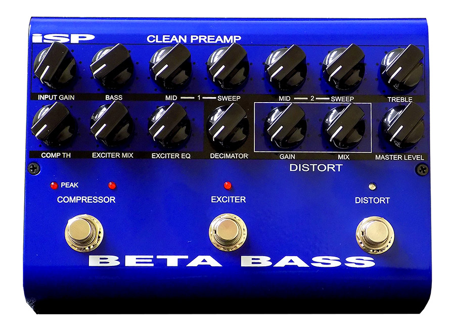 Bass Professor 2/2016, Test:ISP Beta Bass Pedal ISP