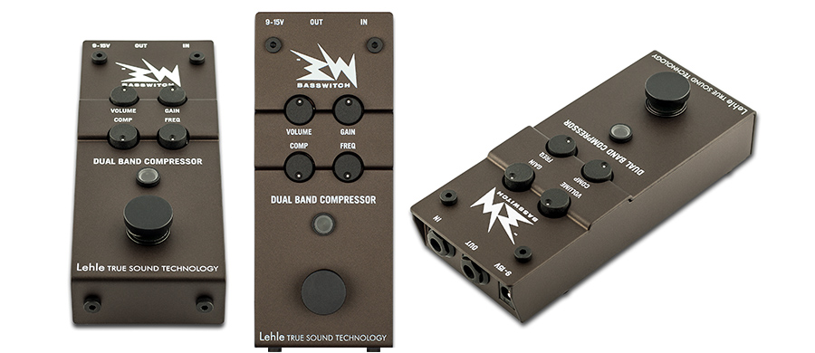 LEHLE/RMI Basswitch Dual Band Compressor. Test: Bass Professor 1/2017