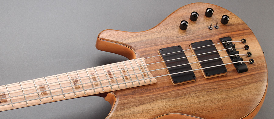 Bass Professor 2/2017 Test: FRANZ BASSGUITARS Wega Walnut 4