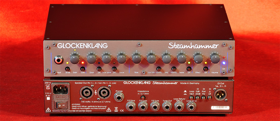 Bass Professor 2/2017 Test: GLOCKENKLANG Steamhammer