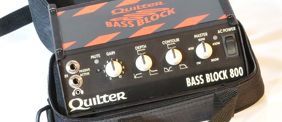 Test: QUILTER Bass Block 800