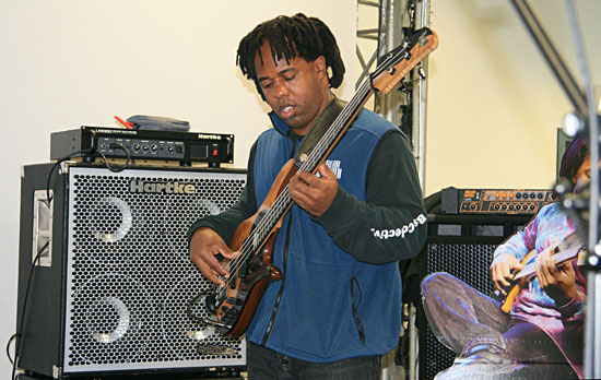 Victor Wooten, FEEL THE BASS, Mannheim 2009