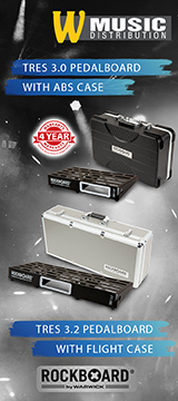 RockBoard TRES 3.0, Pedalboard with ABS Case RockBoard TRES 3.2, Pedalboard with Flight Case