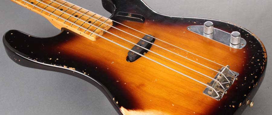 Bass Professor 5/2014 - Ausgabe 77. Test: FENDER Thomann 60th 54 Precision Bass Heavy Relic