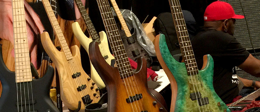 Bass Professor 4/2015, Messe: Summer Namm 2015