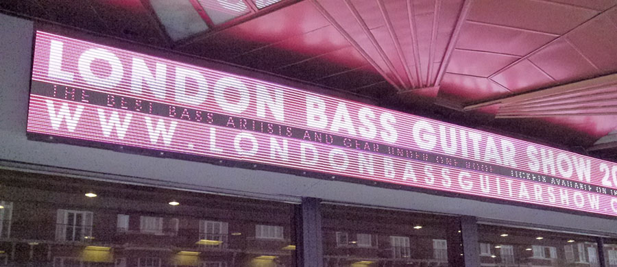 Bass Guitar Show London 2016