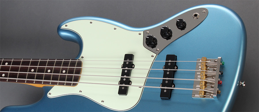 Bass Professor 3/2016, SQUIER James Johnston Jazz Bass