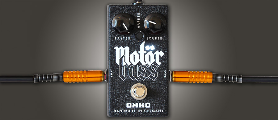 Bass Professor 4/2018, Test: OKKO Guitar FX MotörBass