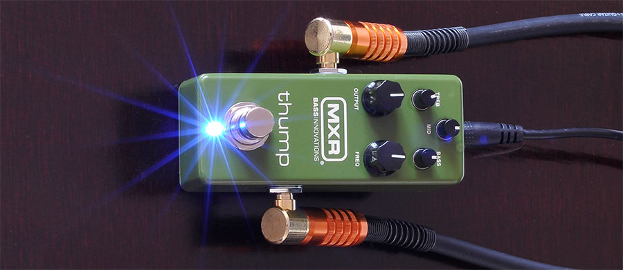 Bass professor 2/2020, Ausgabe 102. Test: MXR M281 Thump Bass Preamp